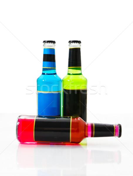 Set wine bottles 1 Stock photo © stoonn