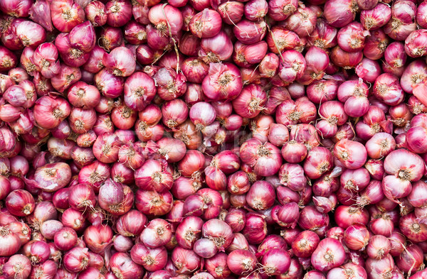 Red onions Stock photo © stoonn