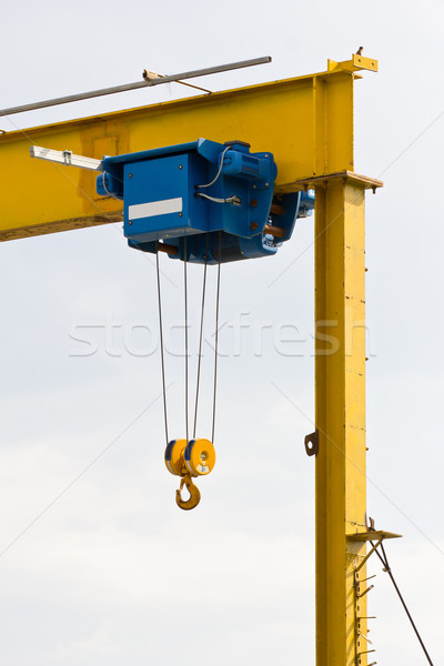 Hook of construction crane Stock photo © stoonn