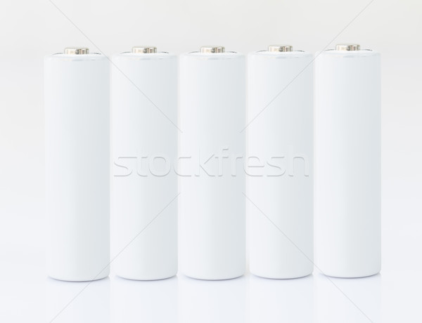 Branco tecnologia eletricidade química Foto stock © stoonn