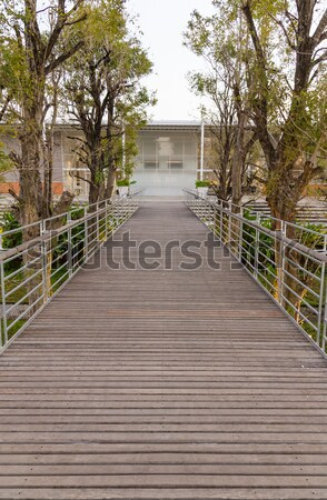 Wooden walkway  Stock photo © stoonn
