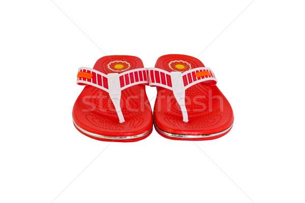 Orange flip-flops  Stock photo © stoonn
