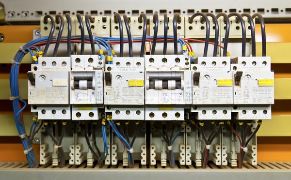 コントロールパネル フレーム バス 産業 エネルギー 階 ストックフォト © stoonn