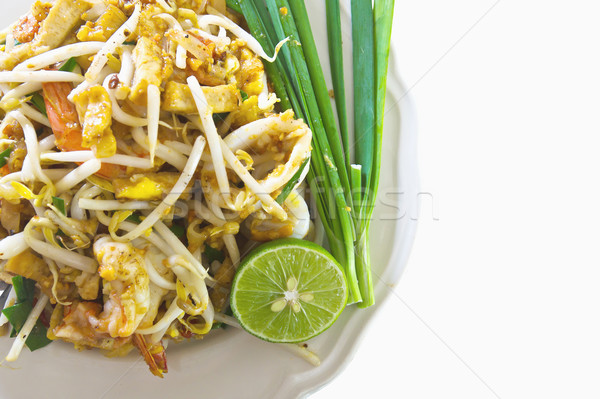 Thai cuisine,Pad Thai1 Stock photo © stoonn
