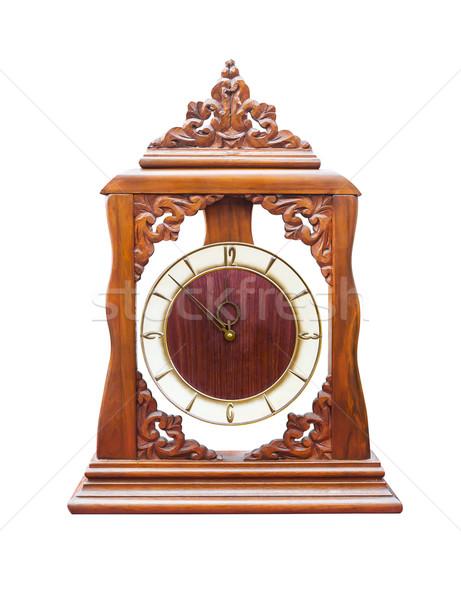 Vintage clock Stock photo © stoonn