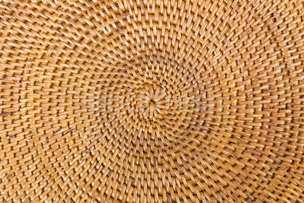 Weave pattern  rattan background Stock photo © stoonn