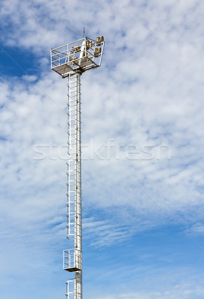 Stadium floodlight Stock photo © stoonn