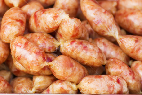 Pork salami sausage  Stock photo © stoonn