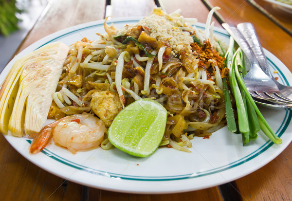 Pad Thai2 Stock photo © stoonn