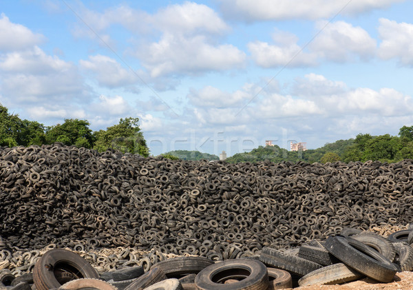 Heap of old Tires Stock photo © stoonn