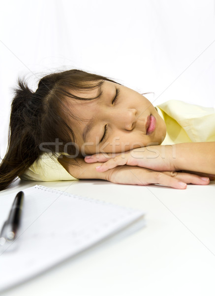 Young Woman Sleeping Stock photo © stoonn