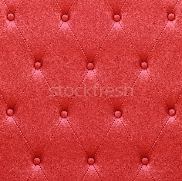 Lusso rosso pelle sede tappezzeria muro Foto d'archivio © stoonn