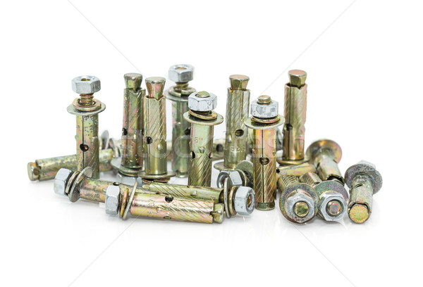 Concrete anchor bolt  Stock photo © stoonn