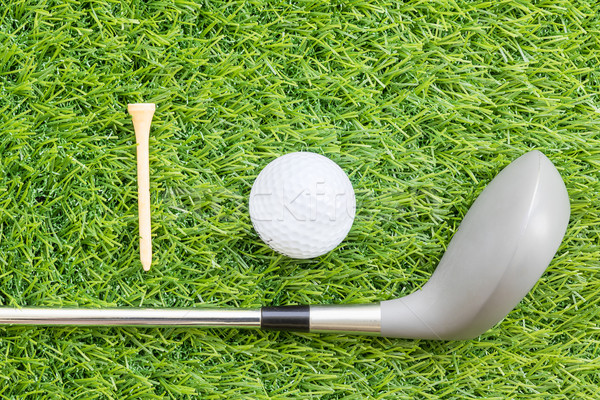 Sport object related to golf equipment  Stock photo © stoonn