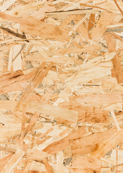 Close up texture of oriented strand board (OSB) Stock photo © stoonn