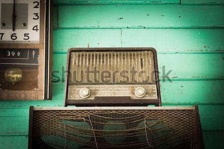 Retro Radio player  Stock photo © stoonn