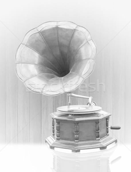 Vintage Gramophone  Stock photo © stoonn