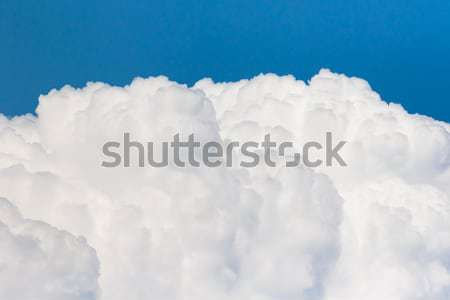 White clouds  in blue sky  Stock photo © stoonn