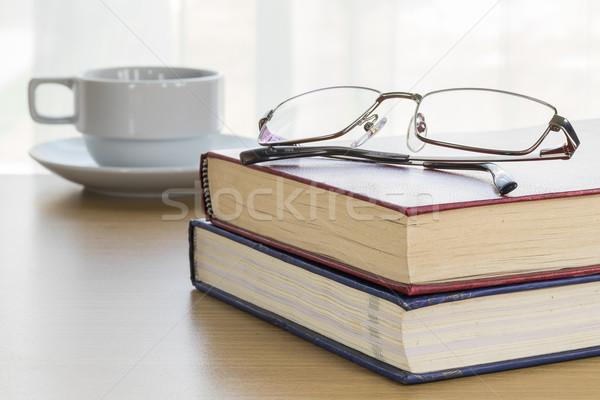пер блокнот открытых пустая страница бизнеса Сток-фото © stoonn