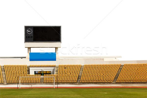 Stock photo: Stadium with scoreboard