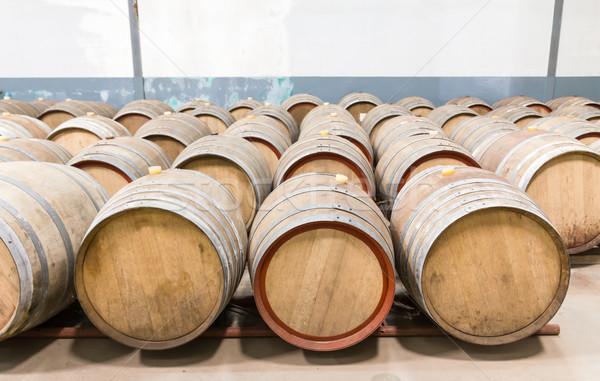 Wine cellar Stock photo © stoonn