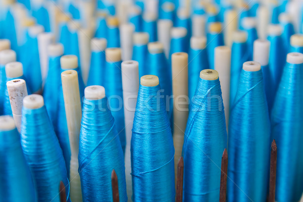 Bobbin for weaving silk Stock photo © stoonn