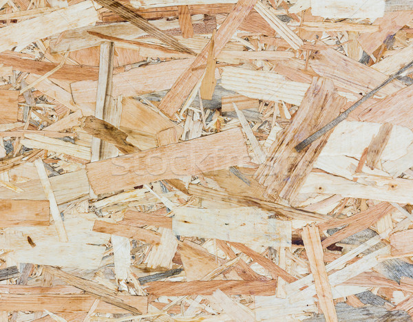 Close up texture of oriented strand board - OSB Stock photo © stoonn