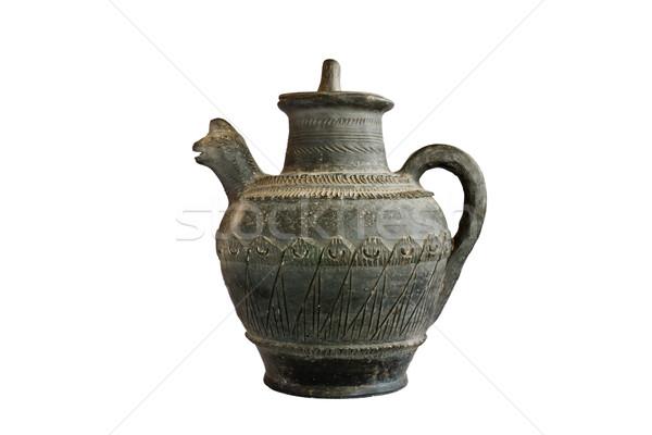 Brocca retro isolato bella cultura oggetto Foto d'archivio © stoonn
