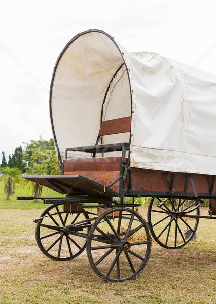 Covered wagon  Stock photo © stoonn