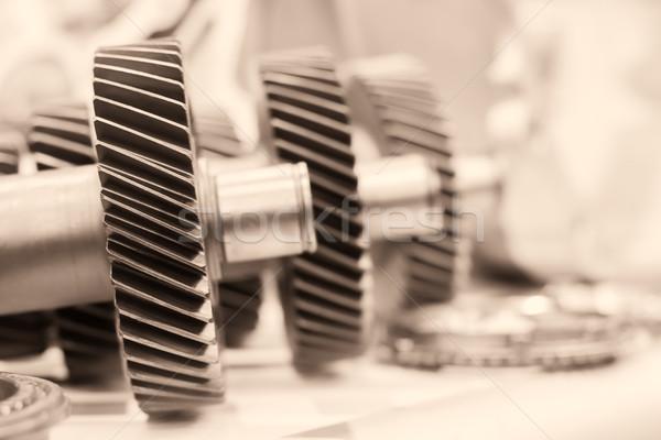Kółko koła narzędzi mechaniczny metal Zdjęcia stock © stoonn
