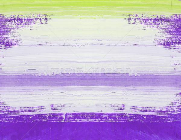 抽象的な 芸術 絵画 木材 手 描いた ストックフォト © stoonn