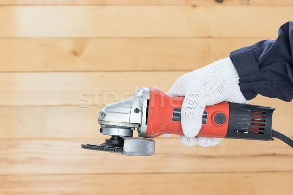 Circular saw with an abrasive disk Stock photo © stoonn