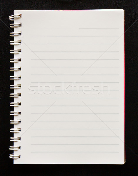 Blank Note Book Stock photo © stoonn