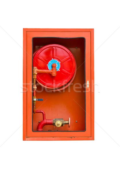 Fire extinguishers on white  Stock photo © stoonn