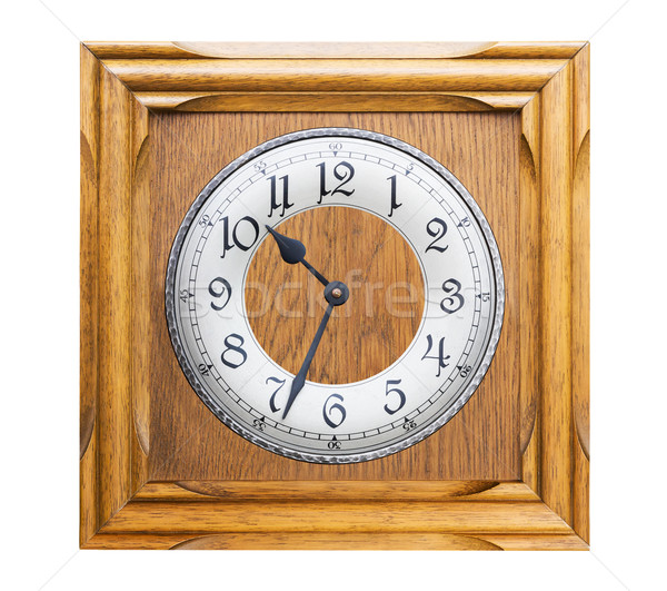 Old wall clock Stock photo © stoonn