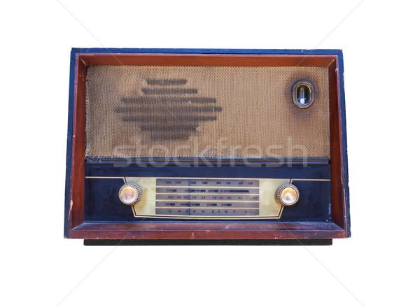 Old radio isolated Stock photo © stoonn