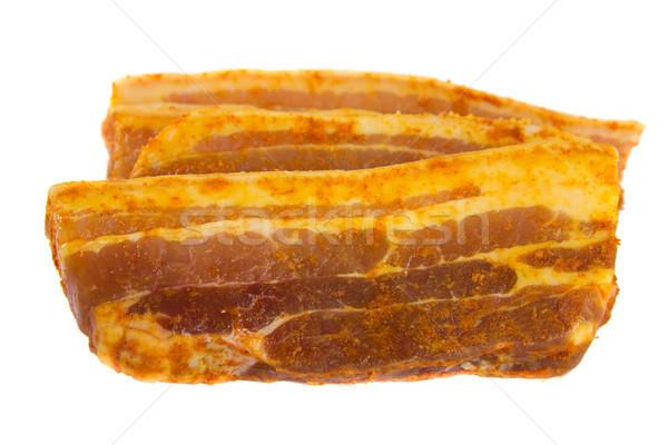 Tranches porc photos brut été viande Photo stock © Stootsy
