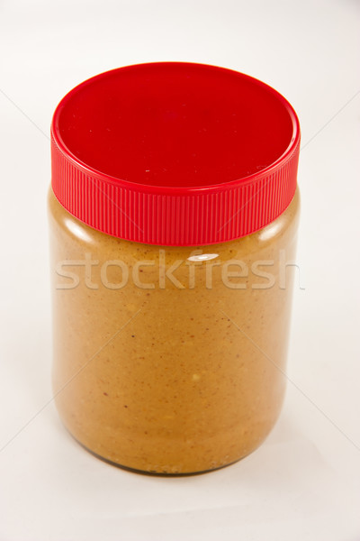 Jar of peanut butter Stock photo © Stootsy