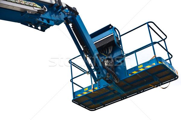 Grue photos bleu blanche construction Photo stock © Stootsy