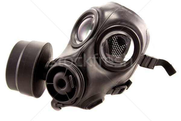 Masque à gaz photos caoutchouc utilisé industrielle gaz Photo stock © Stootsy