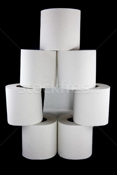 Carta igienica foto acqua Foto d'archivio © Stootsy