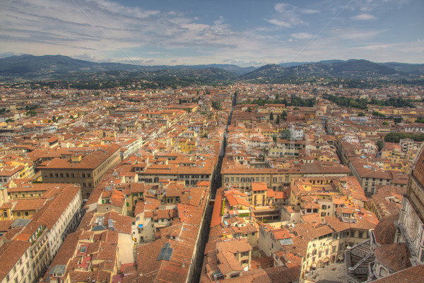 View over Firenze  Stock photo © Stootsy