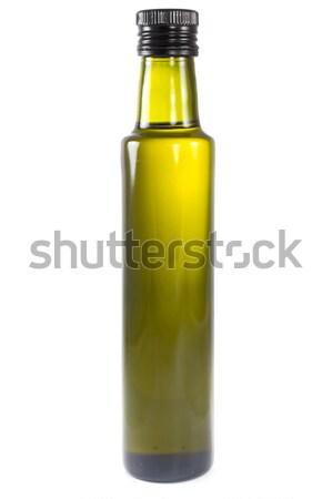 Bouteille huile d'olive photos une lumière vert Photo stock © Stootsy