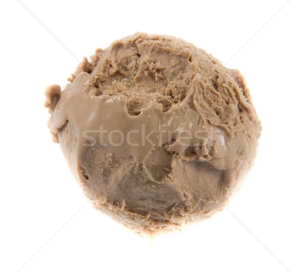 Chocolat icecream balle photos froid alimentaire Photo stock © Stootsy