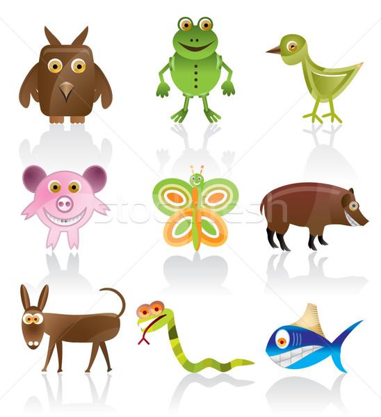 wild animal vector  Stock photo © stoyanh