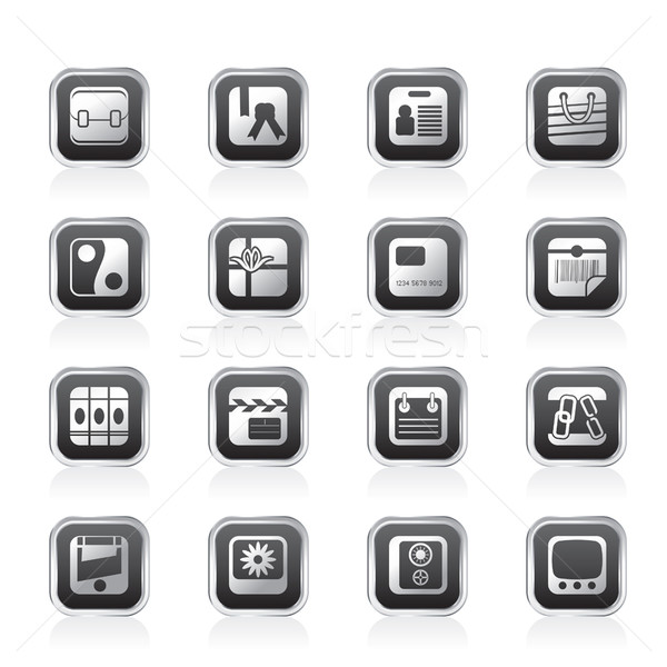 Business and Internet Icons  Stock photo © stoyanh