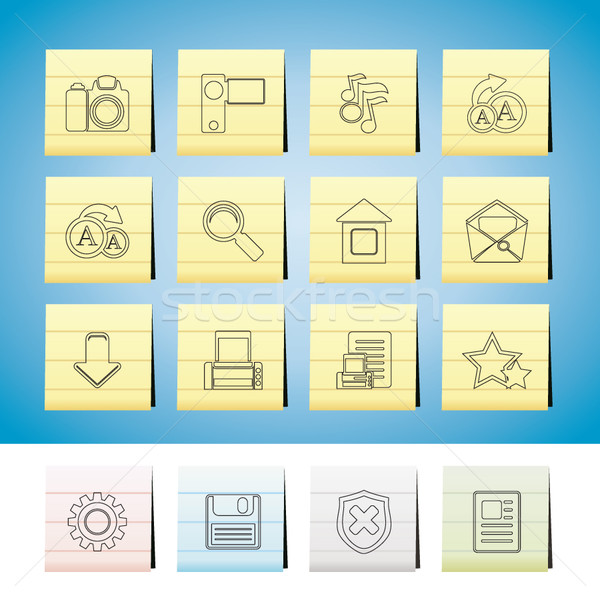 Stock photo: Internet and Website Icons