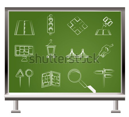 Communism, socialism and revolution icons  Stock photo © stoyanh
