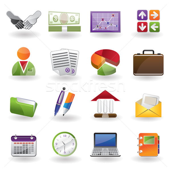 Business and Office icons  Stock photo © stoyanh