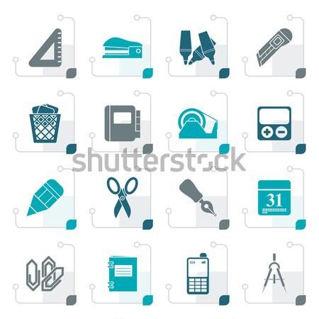 Zdjęcia stock: Proste · działalności · przemysłu · ikona · wektora